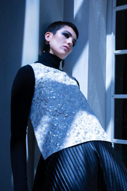Fashion Photo Editorial - Barolo Fashion Show Borgogno Winery - Stylist Agostino Porchietto