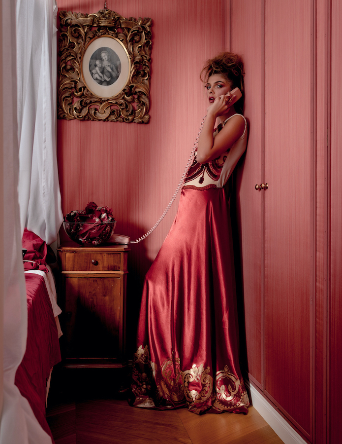 Fashion Pink Beautiful fashion photography photo Venice Biennale Art