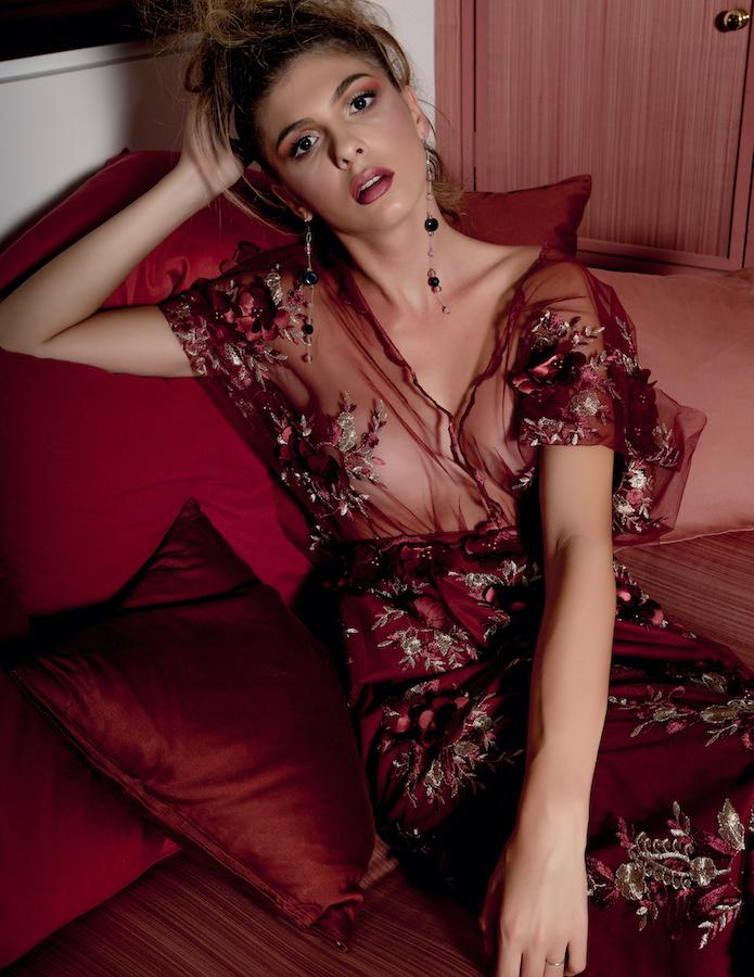 Pink Venice Art Fashion Barolo Show Italy Photo Editoriale Fotografico Moda