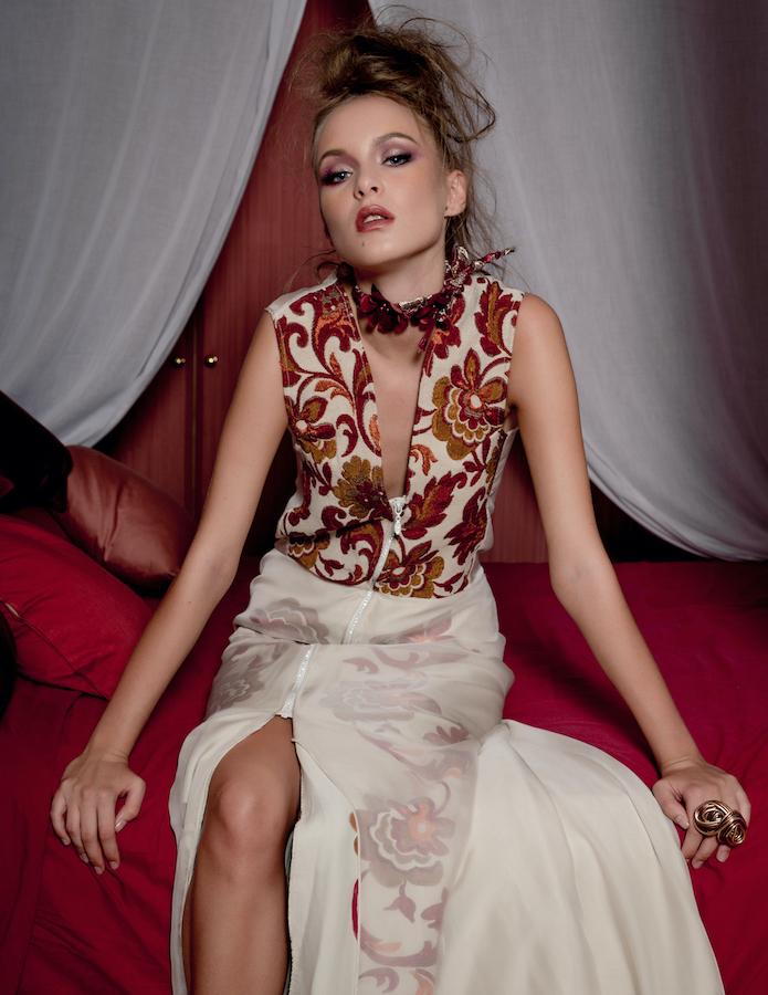 Servizio fotografico moda catalogo editoriale venezia fashion show barolo
